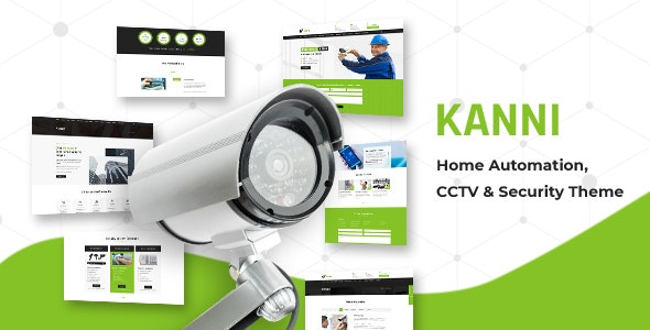 Kanni - Home Automation, CCTV Security Theme - Technology WordPress
