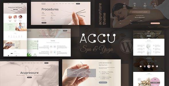Accu - Healthcare, Massage WordPress Theme