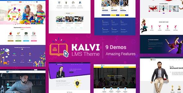 Kalvi - LMS Education - Education WordPress