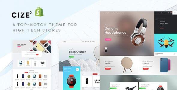 Cize - Electronics Store Shopify Theme - Shopify eCommerce