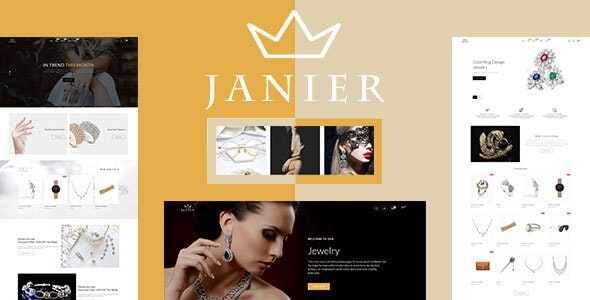Janier - Jewelry & Accessories Responsive Shopify Theme - Shopify eCommerce