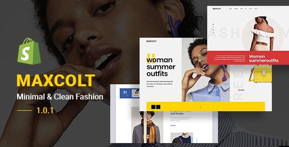 MAXCOLT – Minimal & Clean Fashion Shopify Theme - Fashion Shopify