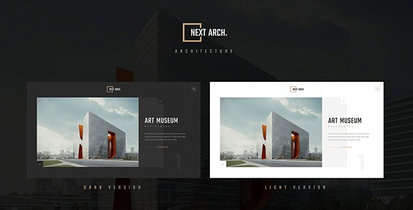 Next Arch. - Creative Responsive Architecture Template - Business Corporate