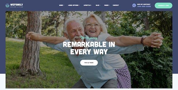 OakTrix - Senior Care WordPress Theme
