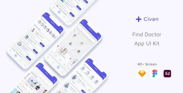 Civan - Find Doctor App UI Kit