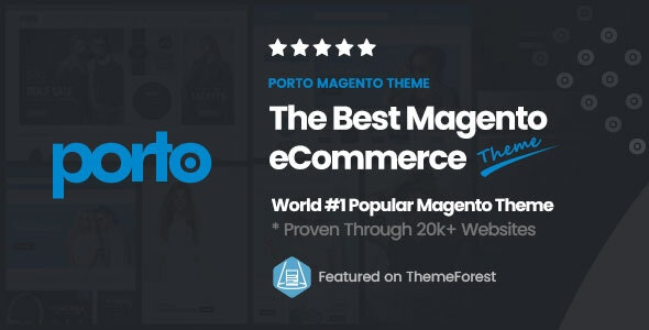 Porto | Ultimate Responsive Magento Theme - Shopping Magento