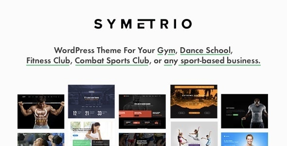 Symetrio - Gym & Fitness WordPress Theme - Health & Beauty Retail