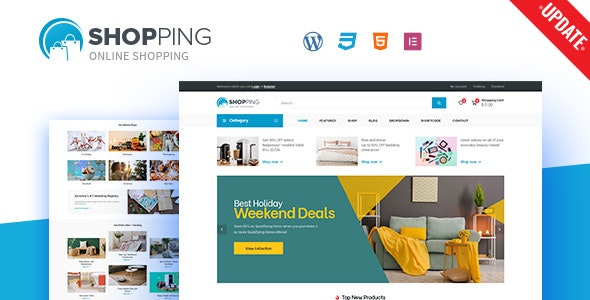 Shopping - WooCommerce WordPress Theme - WooCommerce eCommerce