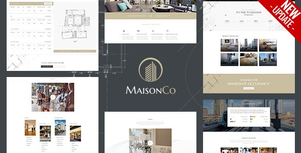 MaisonCo - Single Property WordPress Theme - Real Estate WordPress