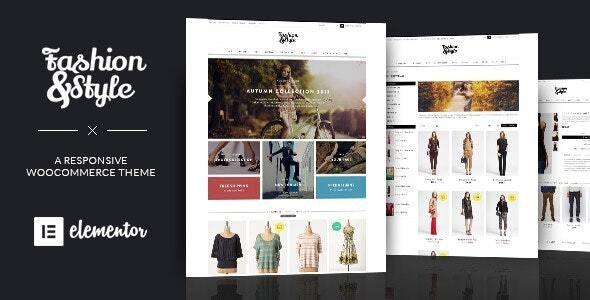 Fashion - WooCommerce Responsive WordPress Theme - WooCommerce eCommerce