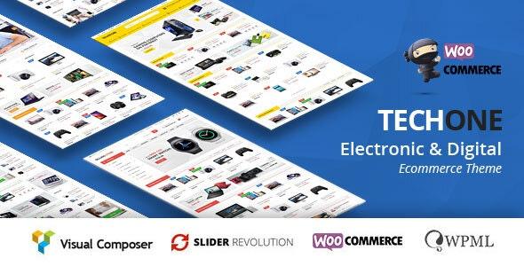 TechOne - Electronics Multipurpose WooCommerce Theme ( RTL Supported ) - WooCommerce eCommerce