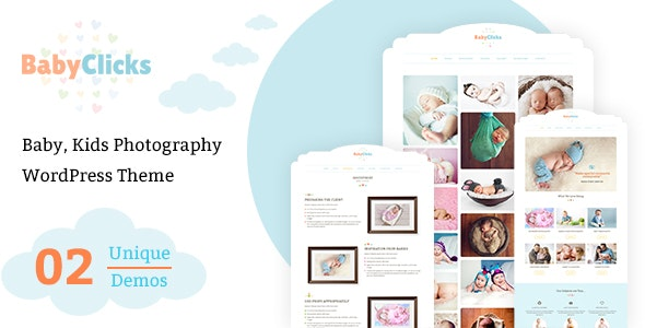 Baby Photographer Portfolio - Photography Creative