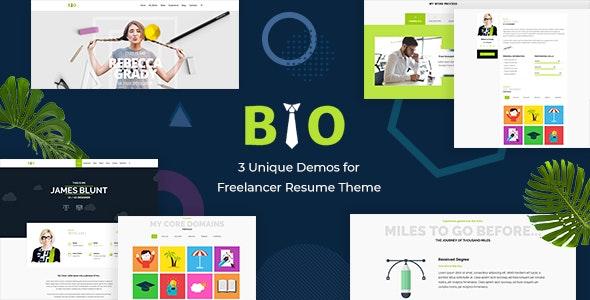 Resume - Portfolio CV & vCard Theme - Business Corporate