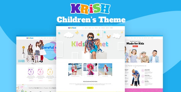 Krish | Kids, Child Care - Experimental Creative