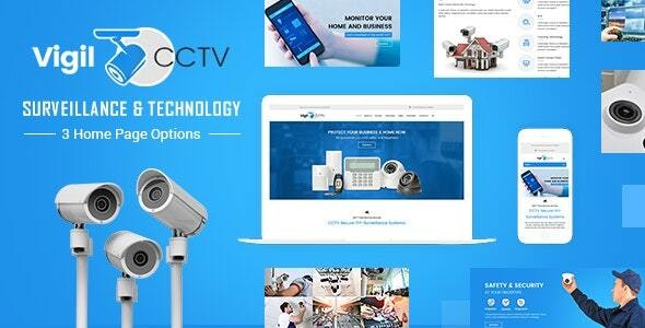 Vigil - CCTV, Home Security WordPress Theme - Software Technology