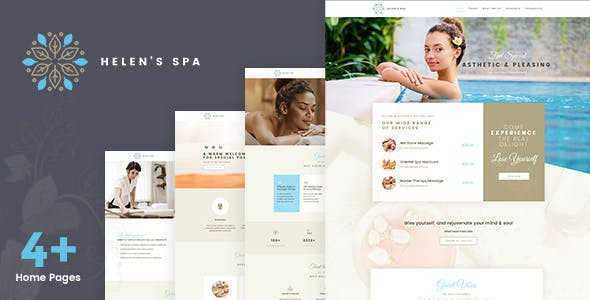 Helen Spa - Beauty Cosmetic Theme