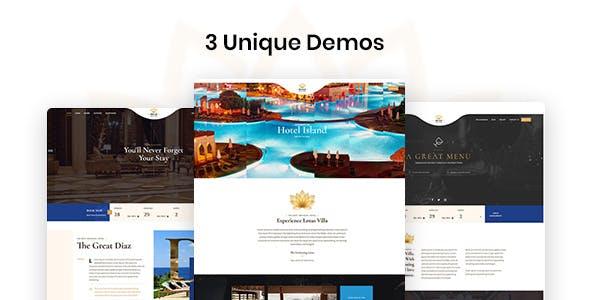 Diaz - Hotel Booking WordPress