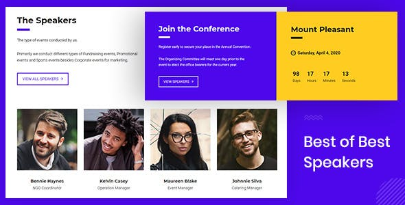 Nikal - Seminar Event Planner WordPress Theme