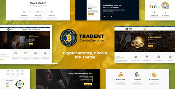 Tradent - Cryptocurrency, Bitcoin WordPress Theme - Software Technology