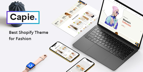 Capie - Fashion Shopify Theme - Mobile Optimized Sections Builder - Fashion Shopify