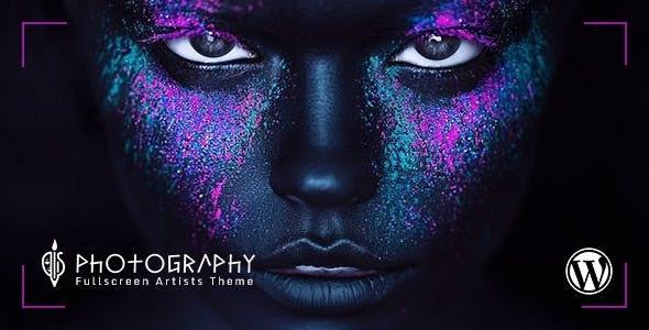 FullScreen Artist - Portfolio, Photography WordPress Theme - Art Creative