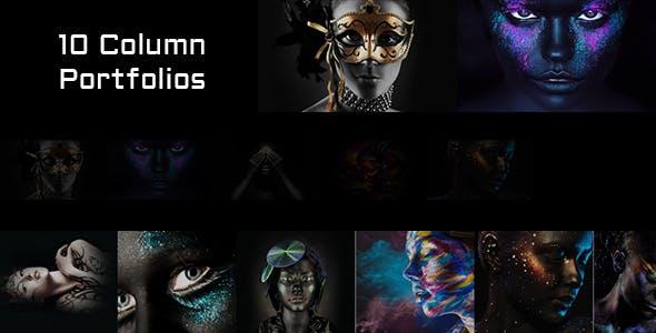 FullScreen Artist - Portfolio, Photography WordPress Theme
