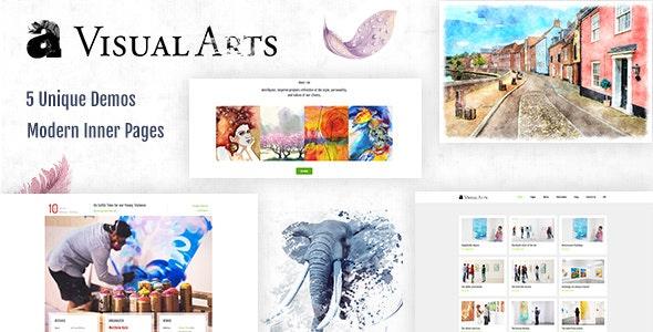 Visual Art | Gallery Theme - Art Creative