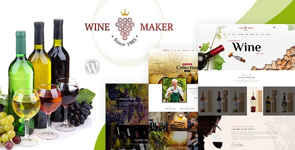 Wine Maker - Winery WordPress Theme - Marketing Corporate