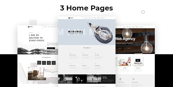 Minim - Minimal Theme