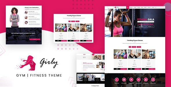 Gym Fitness WordPress - Health & Beauty Retail
