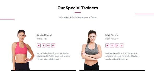 Gym Fitness WordPress