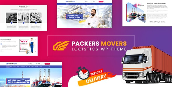 Packers & Movers | Logistics WordPress - Business Corporate