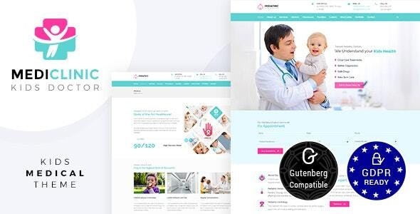Medi - Medical Clinic WordPress - Health & Beauty Retail
