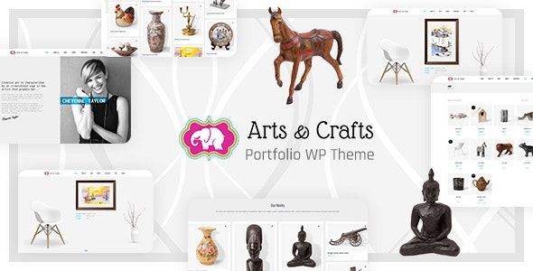 Crafts & Arts - Handmade Artist WordPress - Art Creative