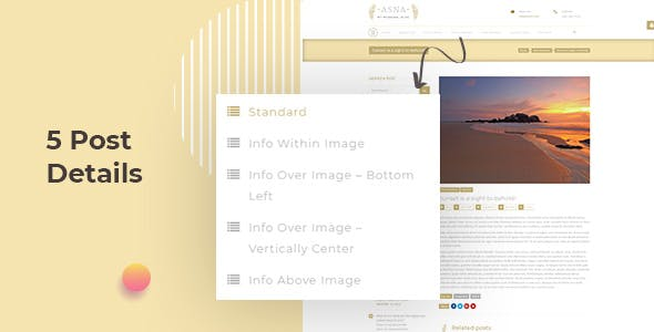 Asna - Creative Blog