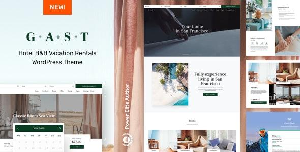 Gast - Hotel WordPress - Travel Retail
