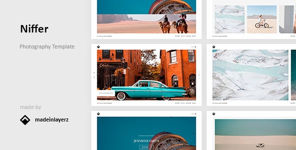 Niffer - Photography HTML Template - Creative Site Templates