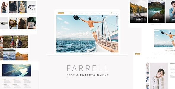 Farrell - Rest and Entertainment Theme - Entertainment WordPress