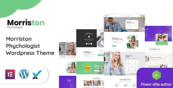 Morriston - Psychologist & Counseling WordPress Theme - Health & Beauty Retail