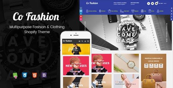 CoFashion - Multipurpose Drag & Drop Fashion Theme