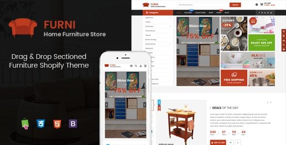 Furni - Multipurpose Sections Furniture Shopify Theme - Shopify eCommerce