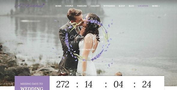 Wedding - Resonsive Event Joomla Template - Wedding Joomla