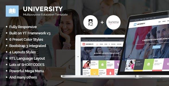 University II - Multipurpose Education Template