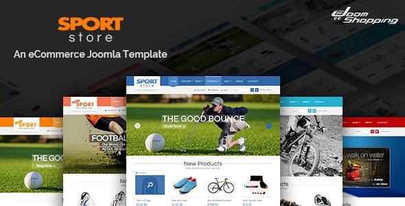 Sport Store - Responsive Joomla Template - Retail Joomla