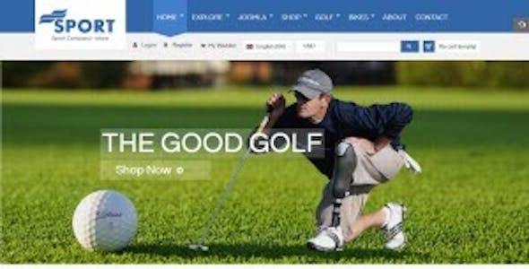 Sport Store - Responsive Joomla Template