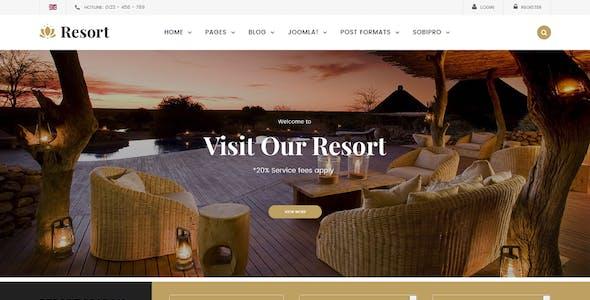 Resort II - Ultimate Responsive Hotel, Travel Joomla Template
