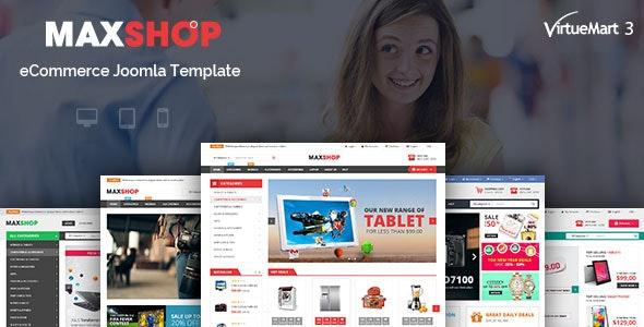 Maxshop - Multipurpose eCommerce Joomla Template - VirtueMart Joomla