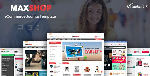 Maxshop - Multipurpose eCommerce Joomla Template