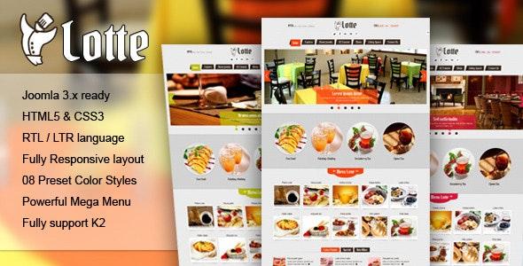 Lotte - Responsive Joomla Template - Retail Joomla