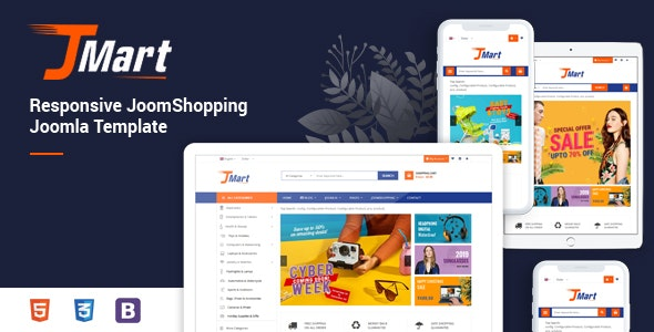 JMart - Multipurpose JoomShopping eCommerce Joomla Template - Retail Joomla